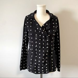 Marc by Marc Jacobs Polka Dot Sweater Jacket